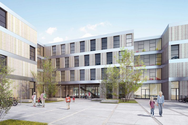 photo of 3-zügige modulare Grundschule
